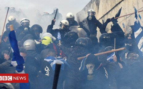105257912 hi051784622 - Macedonia and Greece: Clashes in Athens over neighbour's name change