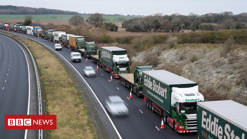 105288441 hi051503605 - Operation Brock: Kent gets £29m to make roads Brexit-ready