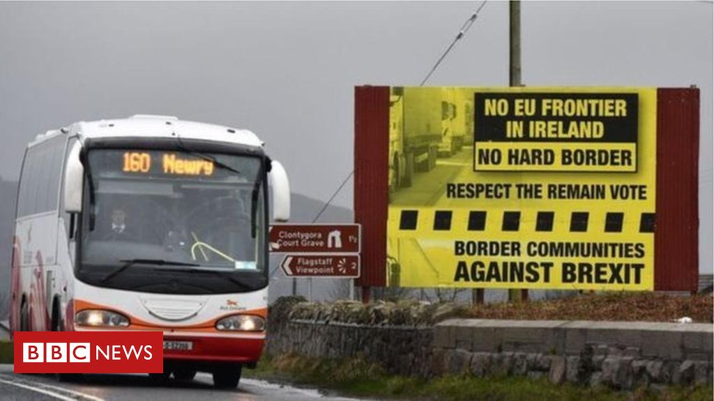 105295374  97109606 border - No-deal Brexit 'means hard border' - European Commission
