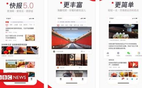 105316401 5e0a6f8f 49d5 4631 adb9 f206975f1889 - Chinese censor calls Tencent news app 'vulgar'