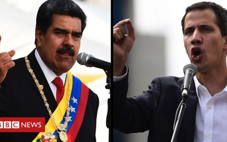 105332627 p06z0zzm - Venezuela crisis: Is Maduro or Guaidó in charge?