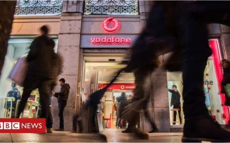 105339038 vodafone - Vodafone puts Huawei rollout in core networks on hold