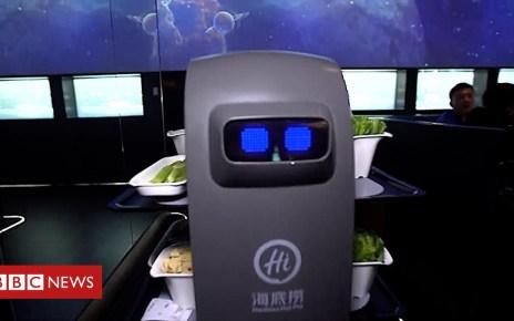 105343146 p06z8wct - Haidilao: Robots staff China's top hotpot chain