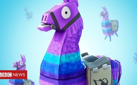 105368204 llama - Fortnite loot box llamas go 'see-through'