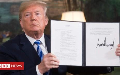 105393790 050348417 - President Trump tells US spy chiefs: 'Go back to school'
