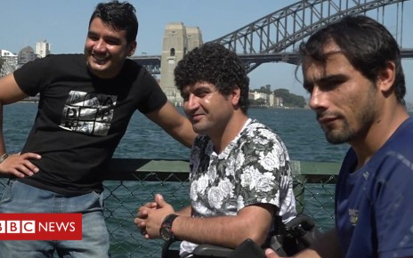 105407348 p06zj79m - The Afghan Invictus athletes claiming asylum in Australia