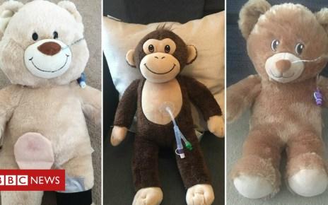 105474919 collage - Tube teddies help sick kids understand their illnesses