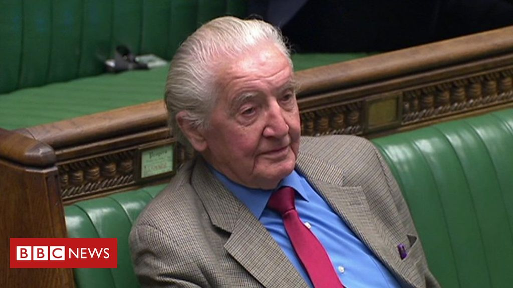 105605775 p070l2c4 - Labour MP Dennis Skinner is wished a 'cheery' birthday