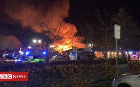 105607449 40f22b38 9429 4c7e 8575 f75973f439ec - George Bryan centre: Blaze hits Tamworth mental health centre