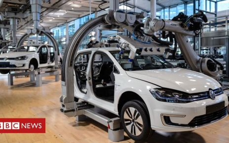 105643655 vwproduction getty - German economy narrowly avoids recession