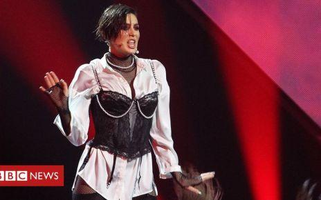 105801515 68ae29ba e7b3 43f1 a254 d1515ce96bce - Ukraine bans its Eurovision entrant over Russia row