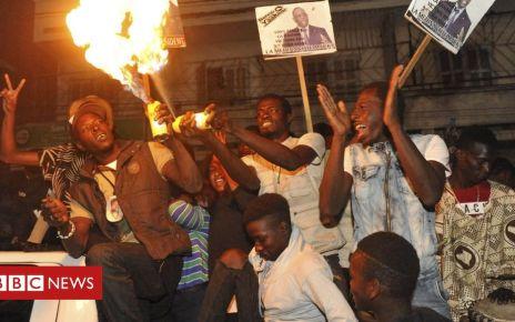 105837484 senepa - Senegal election: President Macky Sall wins second term