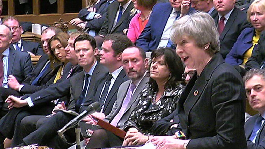 p070nljv - Brexit: PM plans to rush Brexit deal through Commons
