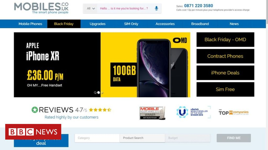 104544612 44e8f253 0bb7 4323 bb4a 6aedbcad65ac - £36 iPhone XR ad criticised