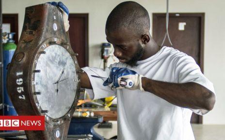 105806923 clock ghana afp976 - Living on 'Ghana Maybe Time'