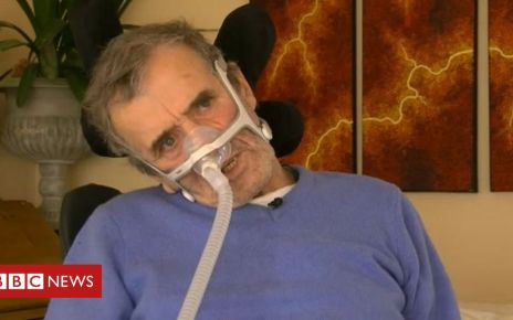 105844408 johnking - Man with motor neurone disease dies after removing mask