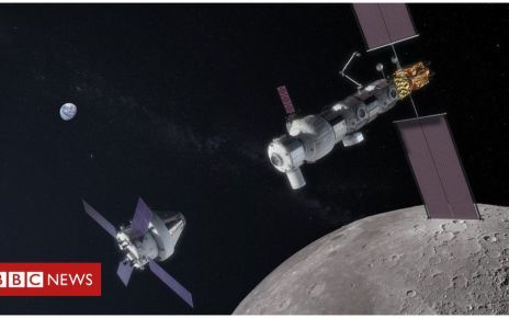 105864206 gateway orion approaching - Gateway Moon station: Canada joins Nasa space project
