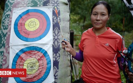 105869246 dorjidema target - Dorji Dema: A female archer taking aim at sexism