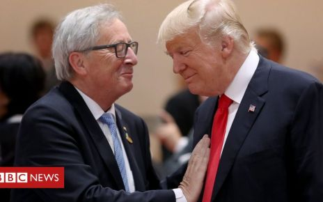 105879924 gettyimages 810662282 - US ends diplomatic protocol tiff with EU