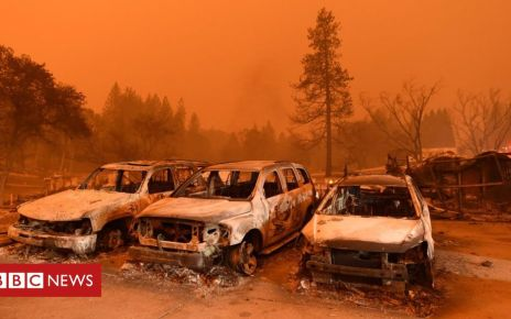 105890397 mediaitem105890396 - Climate change: California wildfires 'can now happen in any year'