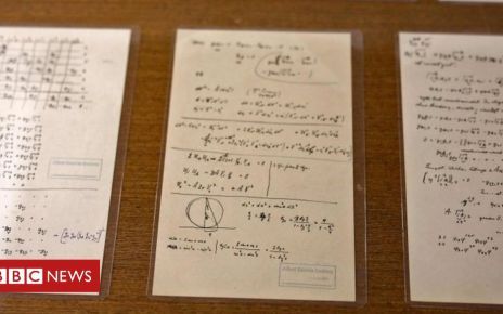 105910926 052770968 1 - Einstein manuscripts: More than 110 new documents released