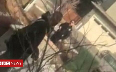 105939858 mediaitem105939852 - US police detain black man picking up rubbish outside home