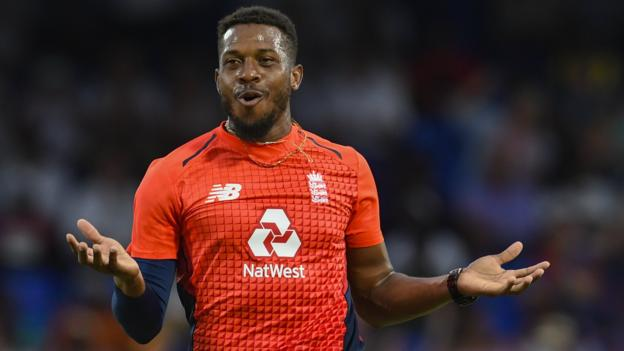 105954392 chris jordan getty - England in West Indies: Tourists bowl out hosts for just 45 to win T20 series