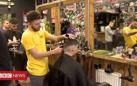 105956556 p072zf2w - The Londonderry barber shop offering men head space