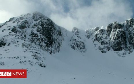 105957845 geograph 730828 by john fielding - Two climbers missing after Glencoe avalanche