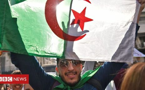 105997937 p0739ct1 - Algeria protests continue after Bouteflika drops fifth term bid