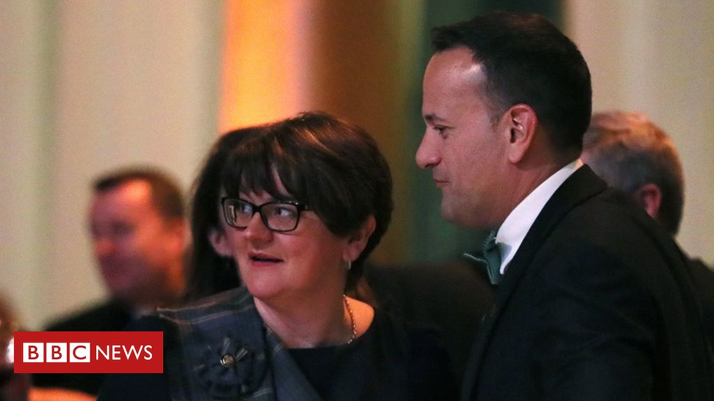 106018644 arlene - DUP talk to government over Brexit deal