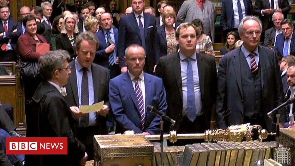 106029032 mediaitem106029031 - Brexit: MPs vote by 412 to 202 to seek delay to EU departure
