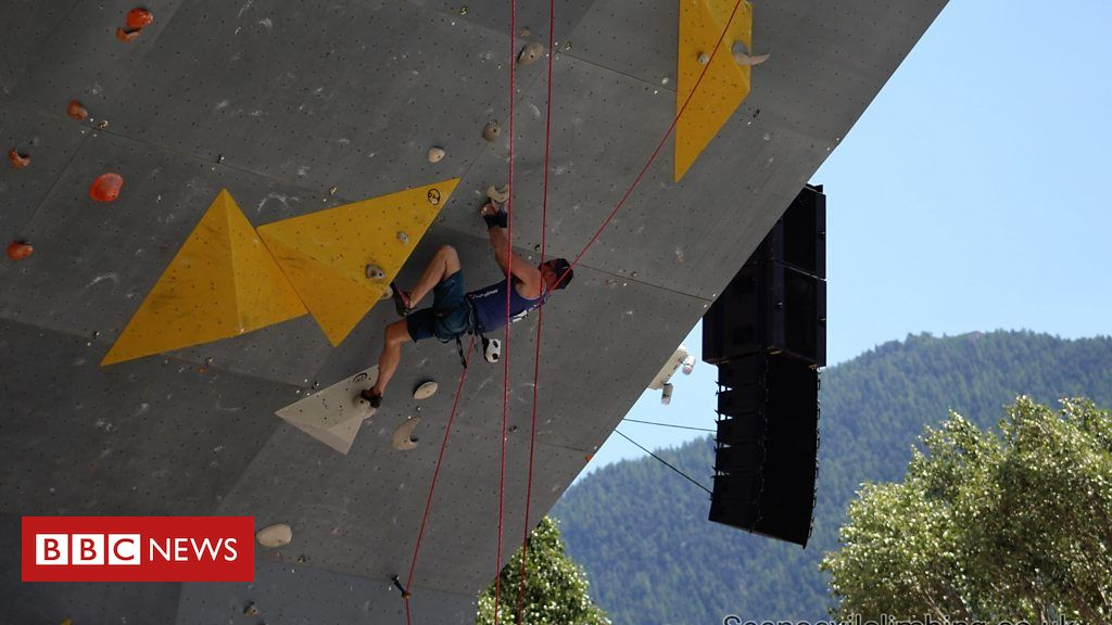 106038855 p073pl4l - Visually impaired climber 'among world's best'