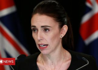 106117214 jacinda - Christchurch shootings: New Zealand to ban military style weapons, says PM