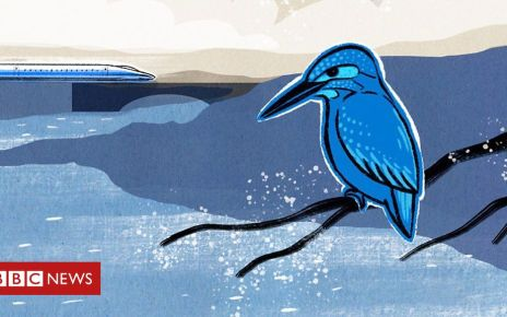 106144683 p074bl86 - How a kingfisher helped reshape Japan's bullet train