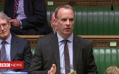 106228964 p074ykf2 - Dominic Raab shows support for withdrawal agreement