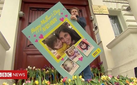 106243576 p075361k - Nazanin Zaghari-Ratcliffe: Mother's Day card delivered to embassy