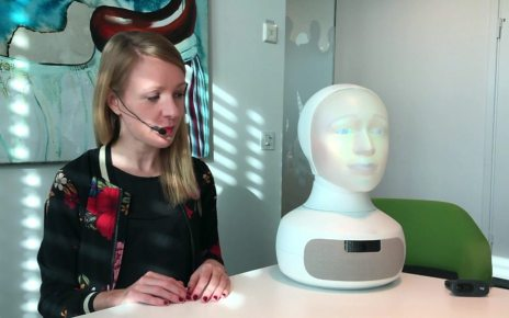 p0735k6w - Would you be happy being interviewed by a robot?