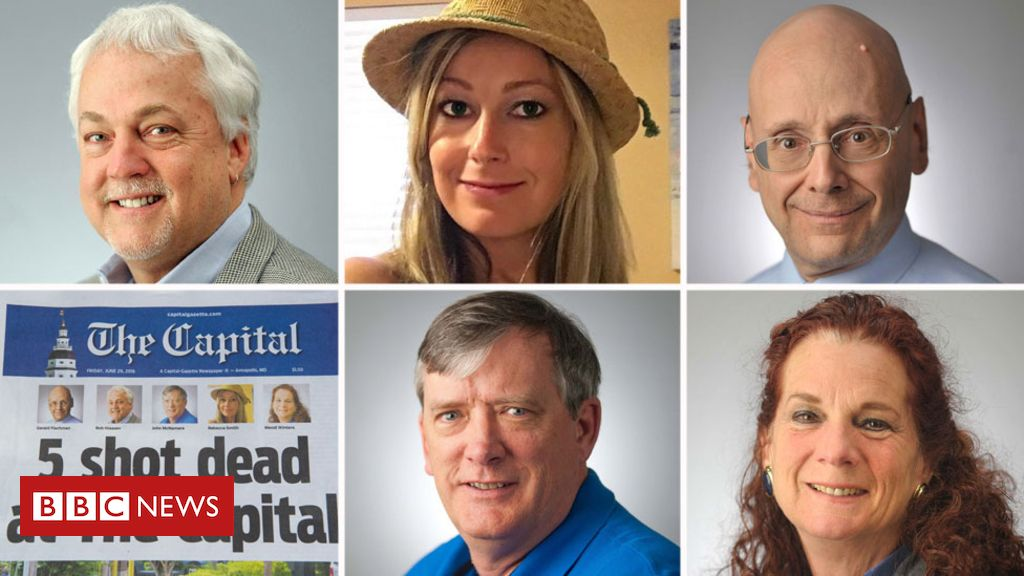 102266572 compo - Pulitzers: Capital Gazette wins for coverage of newsroom massacre