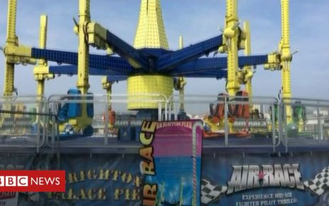 106351779 mediaitem106351778 - One hurt at Brighton pier's Air Race fairground ride