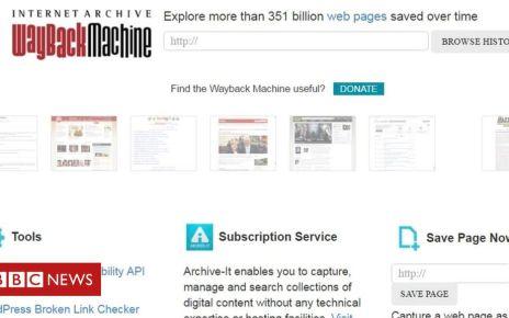 106426578 wayback - Internet Archive denies hosting 'terrorist' content