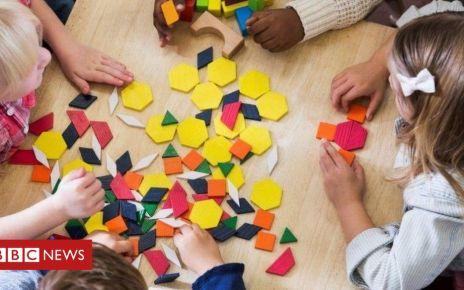106429164 nurserychildrenplaywithshapes - Worsening child poverty harms learning, say teachers