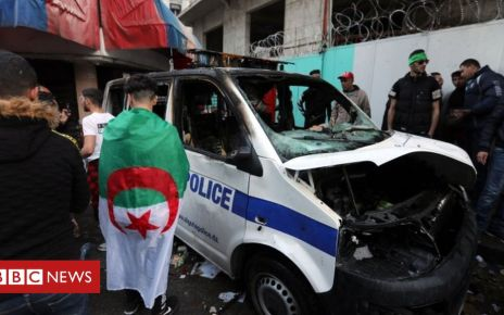 106435069 tv053420136 - Algeria protests: Police arrest 108 in Friday clashes