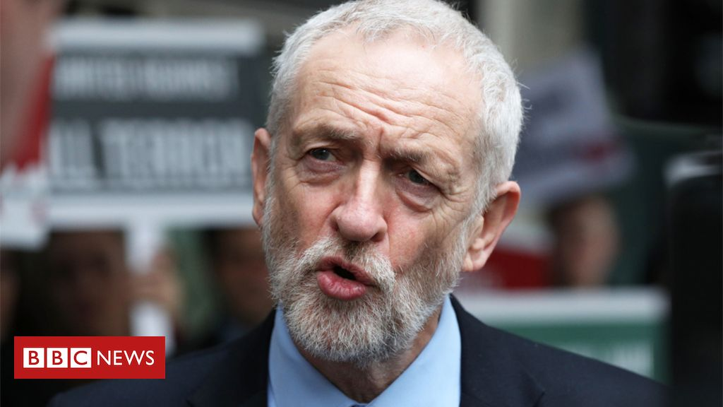 106443699 corb - Anti-Semitism row: Jeremy Corbyn concerned evidence 'ignored'