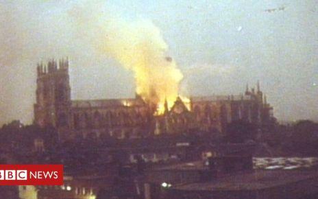 106468679 yorkminsbbc - Notre-Dame repairs 'achievable' - York Minster