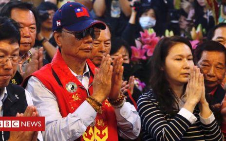 106481899 reutershi053465351 - Taiwan's Foxconn boss Terry Gou says sea goddess inspired presidential bid