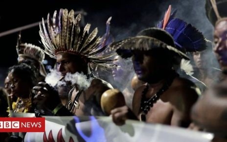 106586755 d992430b d834 40c9 a109 928370cfbb02 - Brazil's indigenous people: 'We fight for the right to exist'
