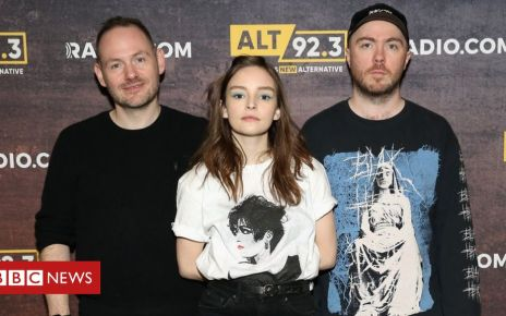 106600393 gettyimages 1069216924 - Chvrches 'upset' with Marshmello over Chris Brown and Tyga song