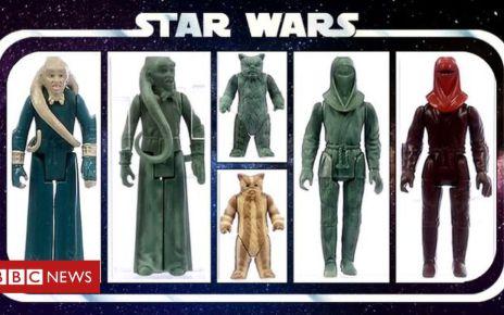 106656094 starwars - Star Wars Bib Fortuna toy prototype sells for £36k