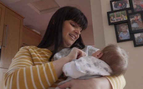 p0757q64 - Miscarriages: Joy for Cardiff mum who lost 10 babies